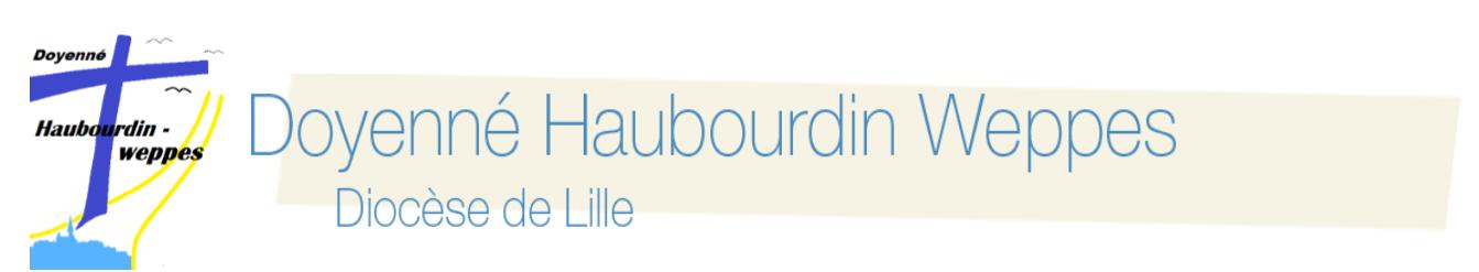 Doyenné Haubourdin Weppes <span>Diocèse de Lille</span>