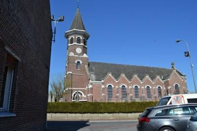Ennetières en Weppes église St Martin