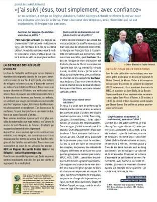 Lire l'article du journal  Au Coeur des Weppes