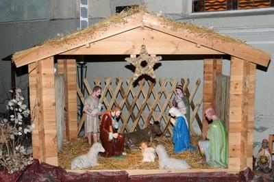 Crèche église St Vaast de Illies