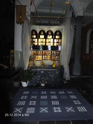 Créche église Notre Dame à Loos (1)