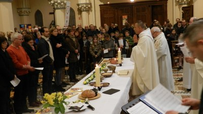 "Jeudi Saint ""Eucharistie"""