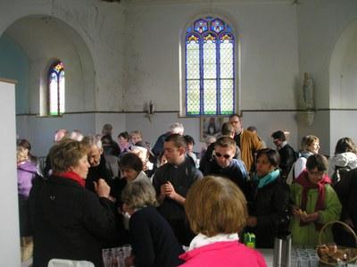 Accueil à Notre Dame Illies 1