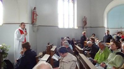 Lancement de la journée Notre Dame Illies.JPG