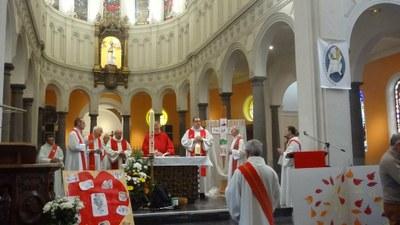 Célébration de Pentecôte Notre Dame à Loos